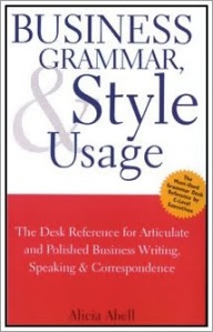 Business Grammar, Style & Usage